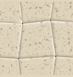 seamless background of sidewalk tiles vector image