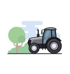 a tractor vector image vector image