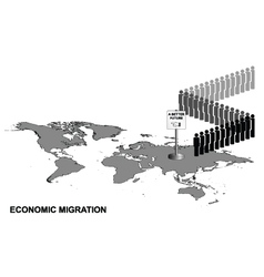 Economic migration vector