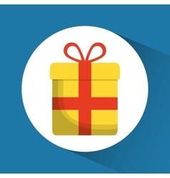 Gift present bowtie market icon graphic vector