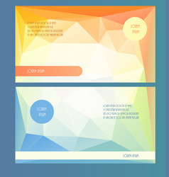 Horizontal presentation booklet template vector
