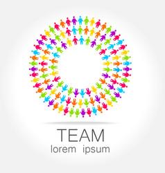 Team logo vector