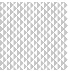Seamless pattern gray triangles vector