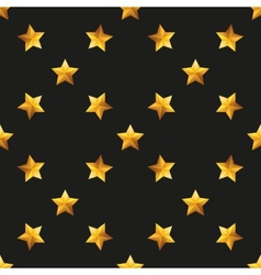 Gold star universal seamless patterns vector