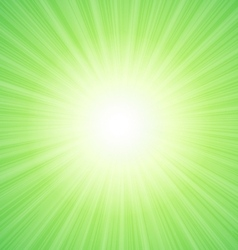 Green sunny background with place for text vector