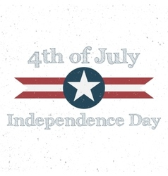 Independence day 4th of july holiday background vector