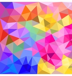 Polygonal triangles background vector image vector image