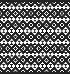 seamless stylish texture with rhombus and triangle vector image