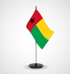 Table flag of guineabissau vector
