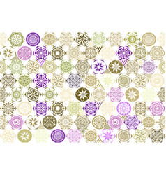 Seamless patchwork background from brown pink and vector