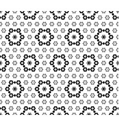 Geometric pattern subtle ornate background vector