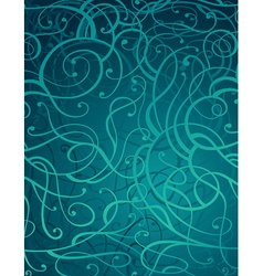 Motton blue abstract ornament background vector