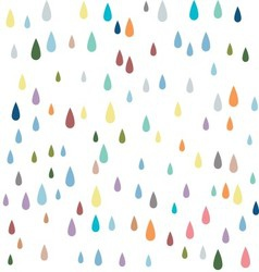 Water seamless pattern paint drops seamless patter vector