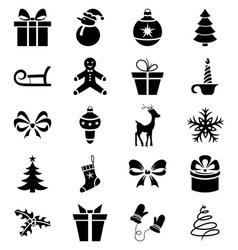 Big Christmas Set vector image vector image
