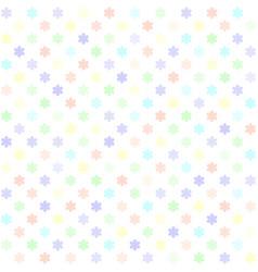 flower pattern seamless vector image