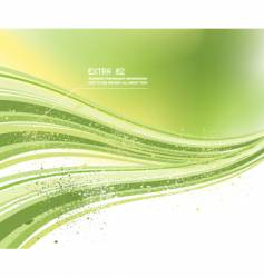 Eco techno background vector