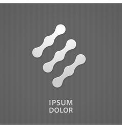 Nano technology icon vector image