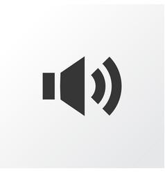 Sound icon symbol premium quality isolated audio vector