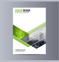 Abstract flyer design background brochure vector