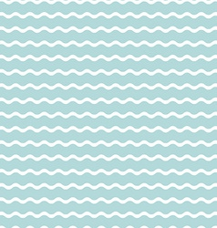 Wave blue background seamless pattern vector