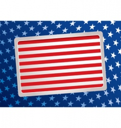 American inspired background vector image vector image
