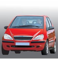 car illustration vector image vector image