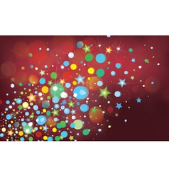 Colorful lights background vector