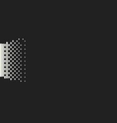Comic halftone background vector