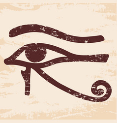 Egyptian old drawing vector