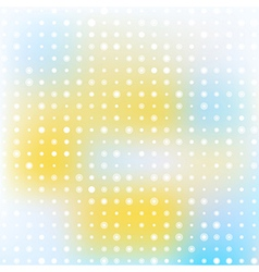 Light abstract background with circles vector image