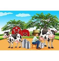 Milking vector
