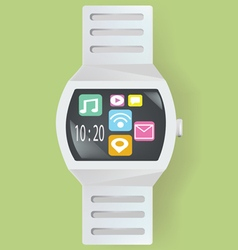 Smart watch concept vector image vector image