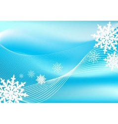Snow blizzard background vector