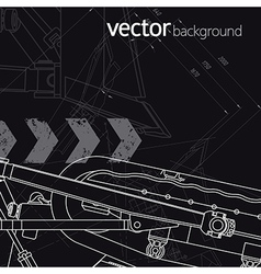 Technology background version 2 vector image