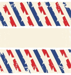 Abstract american background striped ripped paper vector