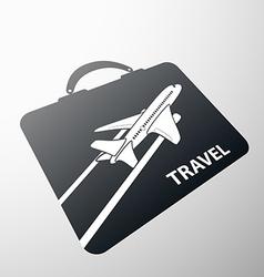 Suitcase stock vector