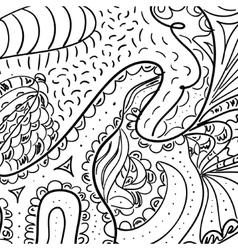 Rough sketch tribal vector