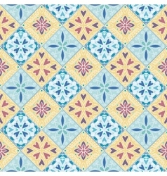 Colorful moroccan tiles ornaments vector