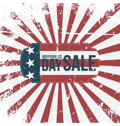 Independence day 4th of july sale holiday label vector