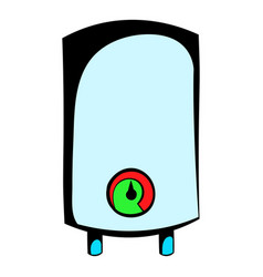 boiler icon cartoon vector image