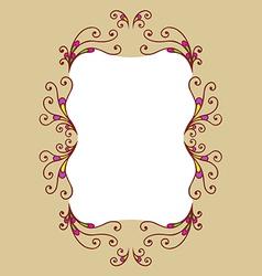 Decor frame vector