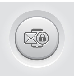 Privacy protection icon vector