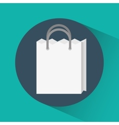 Shopping bag online store market icon vector