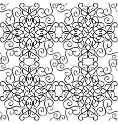 Abstract elegant seamless pattern vector