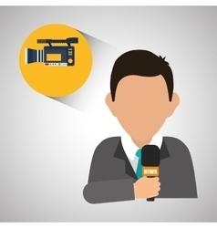 News design broadcasting concept communication vector