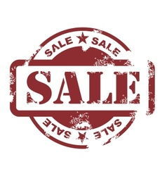 sale stamp vector image vector image