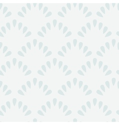 Simple seamless pattern of tracery shell vector