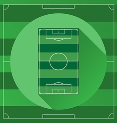 Soccer game field vector