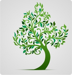 tree vector icon vector image