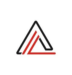 Triange logo vector